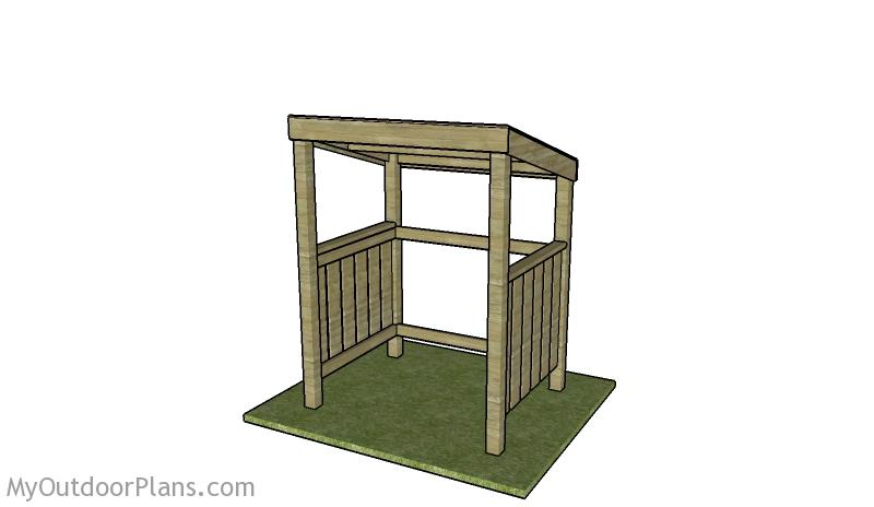 Grill Shelter Plans | MyOutdoorPlans | Free Woodworking ...