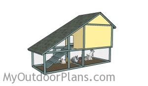 How to build a rabbit hutch