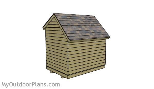6x8 Wood Shed Roof Plans Myoutdoorplans Free