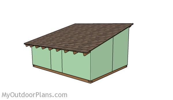 Pig shed plans
