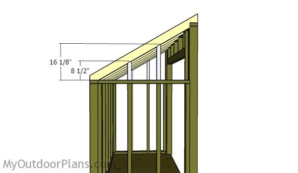 Rafter supports