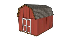 12×16 Barn Shed Plans