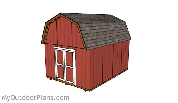 12x16 barn shed plans myoutdoorplans free woodworking plans and