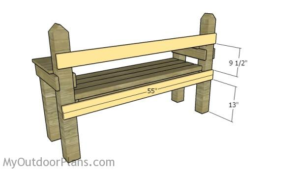 Backrest supports
