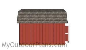 Barn shed - 12x16