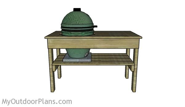 Big green egg plans