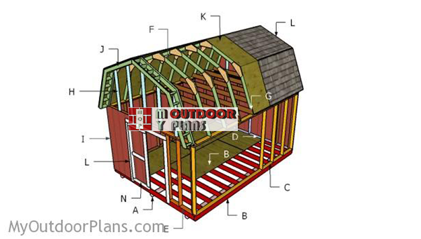 Building-a-12x16-barn-shed