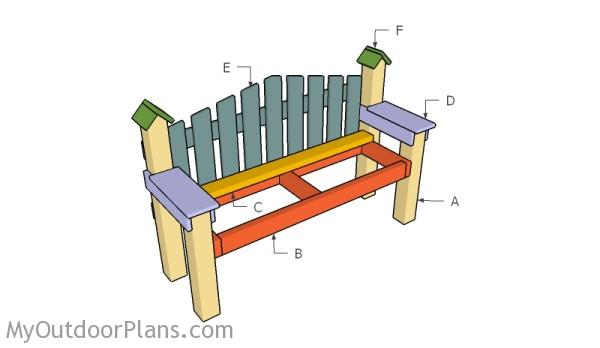 Building a country bench