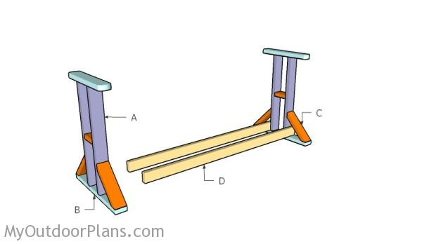 Building A Glide Swing Stand