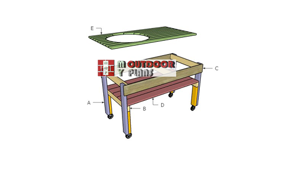 Building-a-green-egg-table