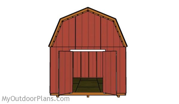 Building a large barn shed