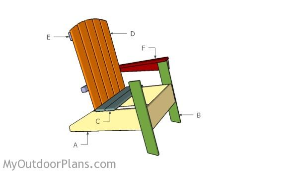 Building a modern adirondack chair