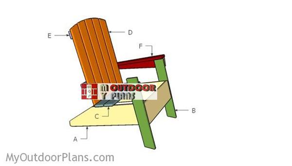 Building-a-modern-adirondack-chair