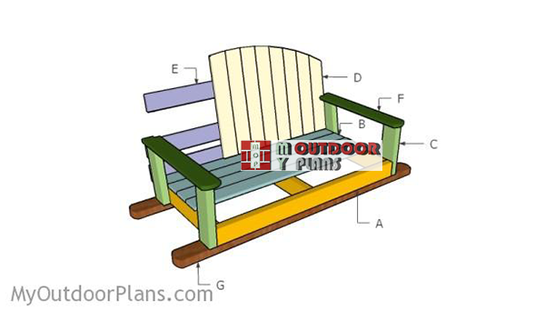 Building-a-swing-bench