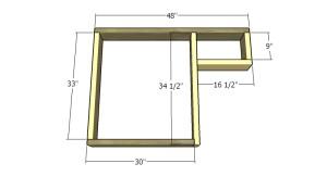 Building a tabletop frame