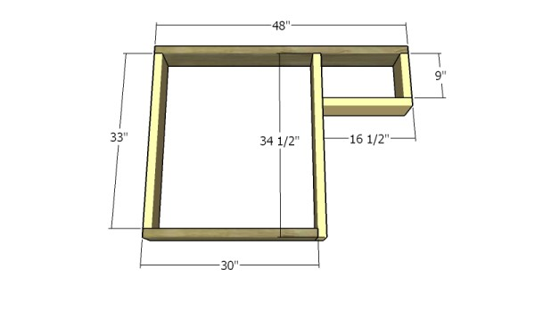 Building a tabletop frame