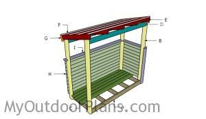 Building a trash shed