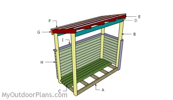 Building a trash shed