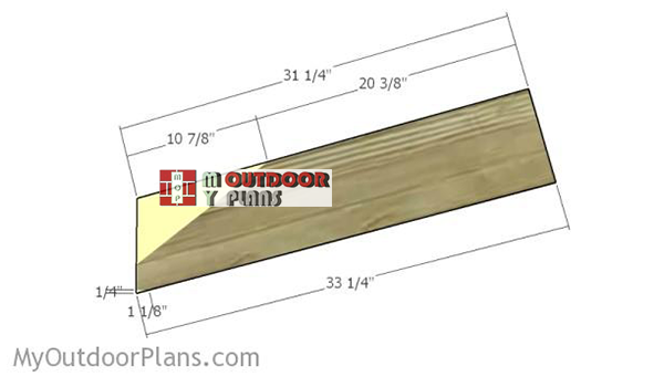 Building-the-back-legs-for-adirondack-chair