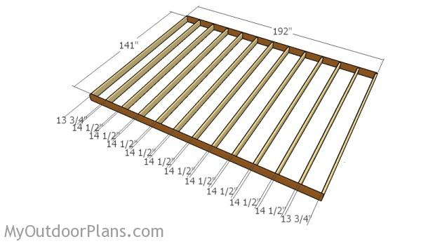12x16 barn shed plans myoutdoorplans free woodworking for 12x16 deck plans