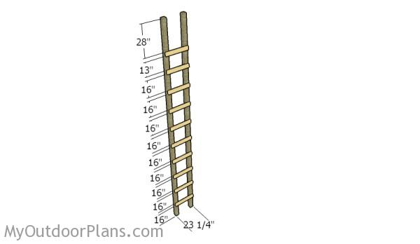 Building the ladder