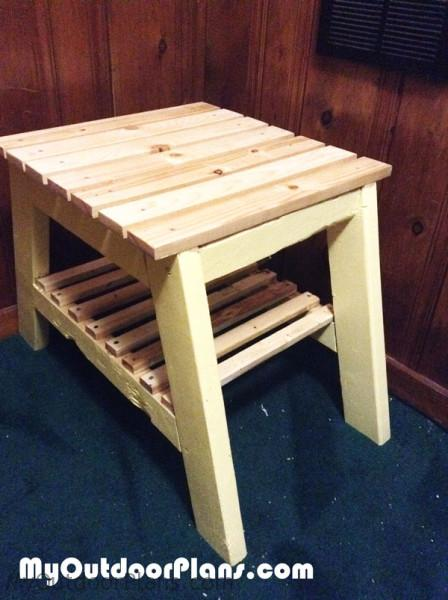 Diy End Table Myoutdoorplans Free Woodworking Plans