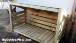 DIY Small Firewood Shed