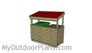DIY Trash shed plans