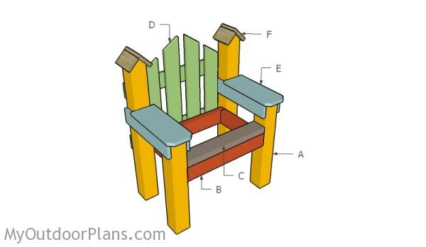 DIY country chair