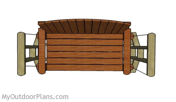 Swing Bench Plans Myoutdoorplans Free Woodworking Plans And Projects Diy Shed Wooden