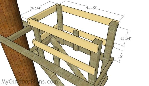 Fitting the rails