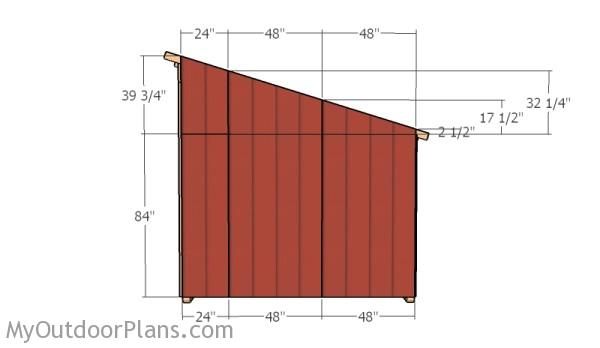 10x14 Horse Shelter Roof Plans Myoutdoorplans Free