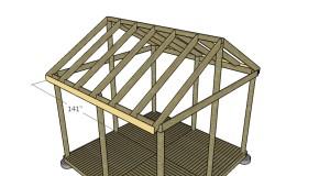 Wooden Gazebo Roof Plans