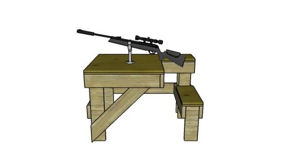 Shooting Table Plans Myoutdoorplans Free Woodworking