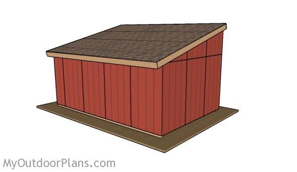 Horse shelter plans free