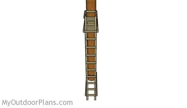 Ladder stand plans