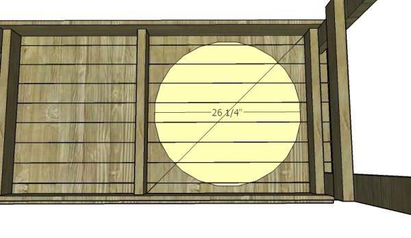 XL Big Green Egg Table Plans | MyOutdoorPlans | Free ...