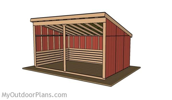 12x18 Run In Shed Roof Plans Myoutdoorplans Free Woodworking Plans And Projects Diy Shed