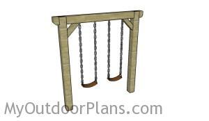 Simple swing set plans