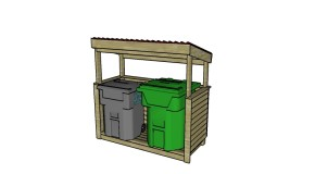 Trash Shed Plans