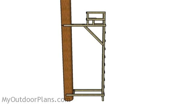 Ladder Tree Stand Plans | MyOutdoorPlans | Free Woodworking Plans and ...