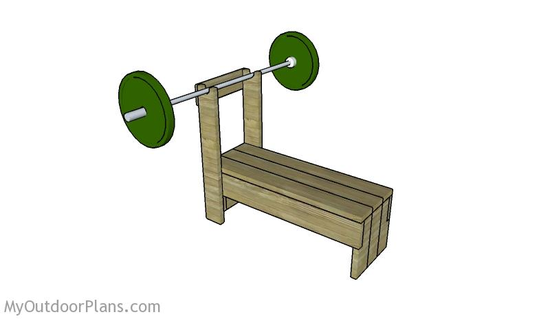 Sensational Weight Bench Plans Myoutdoorplans Free Woodworking Plans Theyellowbook Wood Chair Design Ideas Theyellowbookinfo