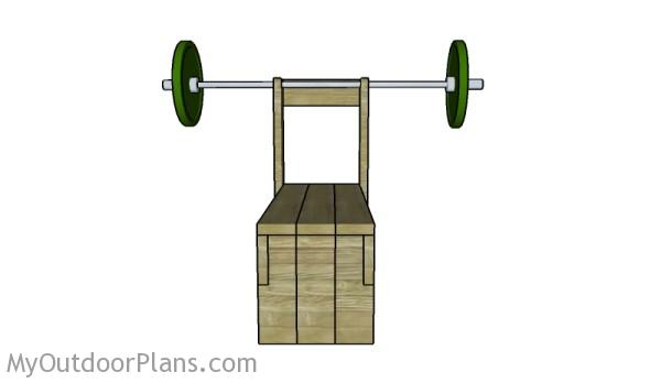 Workout bench plans
