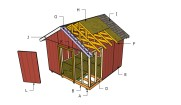 12×12 Shed Roof Plans