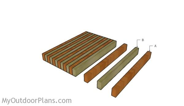 Butcher Block Plans MyOutdoorPlans Free Woodworking Plans and