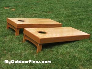 Building-a-cornhole-board