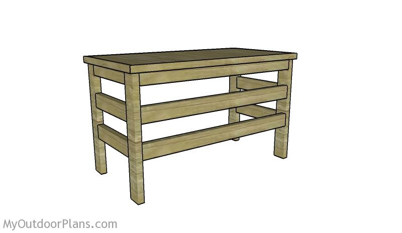 Sensational 2X4 Desk Plans Myoutdoorplans Free Woodworking Plans And Download Free Architecture Designs Rallybritishbridgeorg
