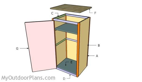 Building a gun cabinet