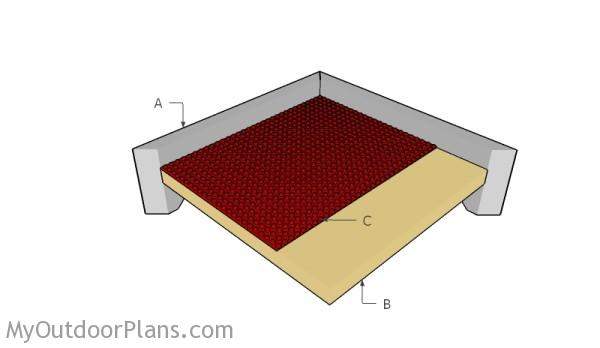 Building a lego tray