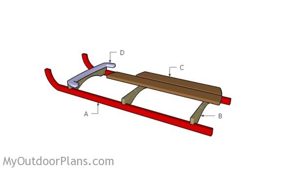 Building a wood sled